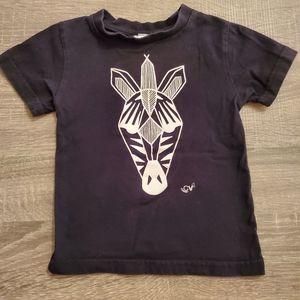Coton vanille Zebra Tshirt